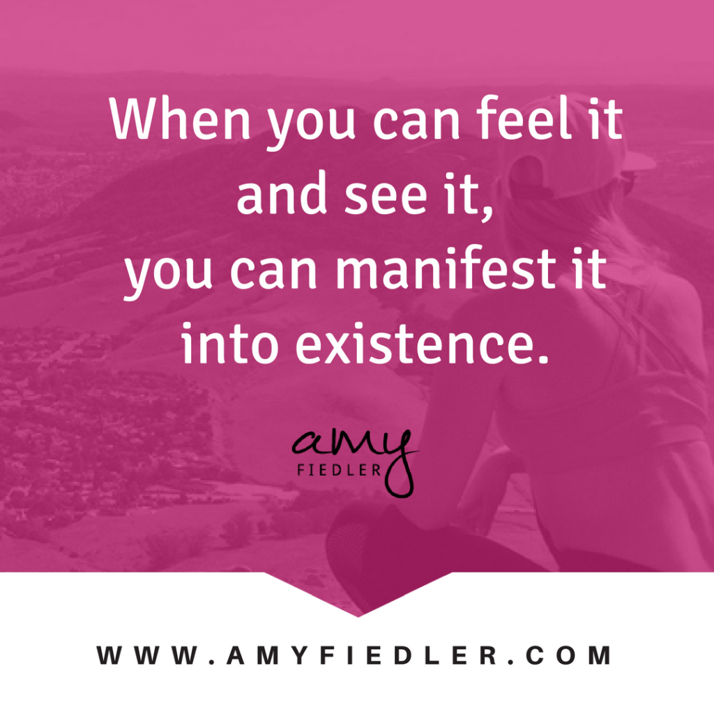 manifest it Amy Fiedler