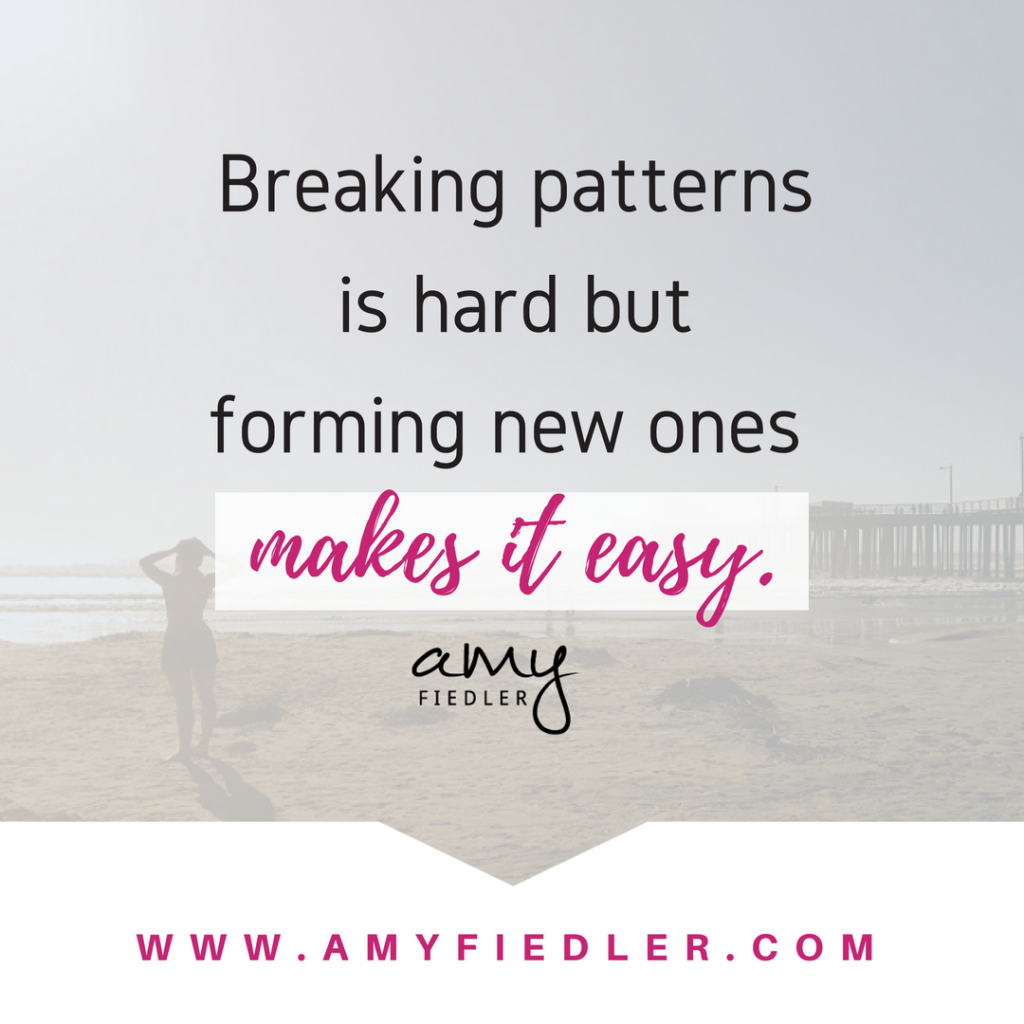 breaking patterns Amy Fiedler
