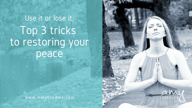3 tips to restoring peace