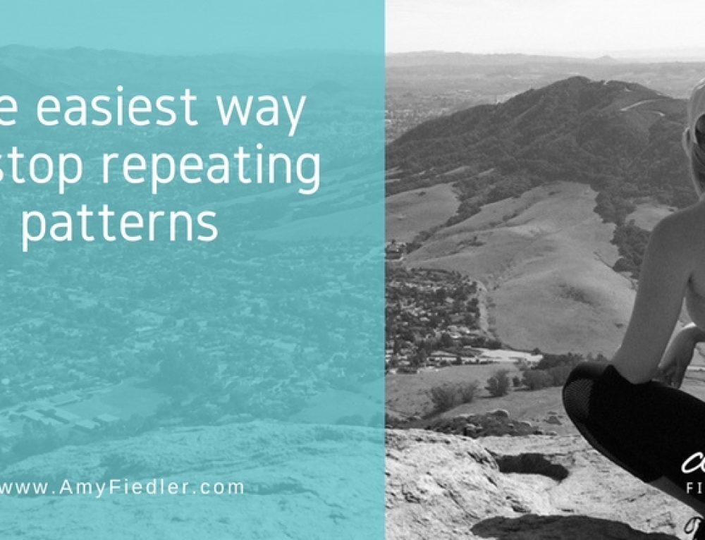 The Easiest Way To Stop Repeating That Pattern Is