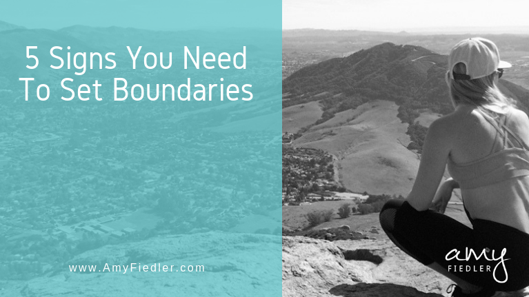 5 signs you need to set boundaries